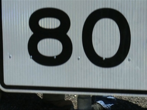 Raw: New 80 MPH Speed Limit Appears in Nevada
