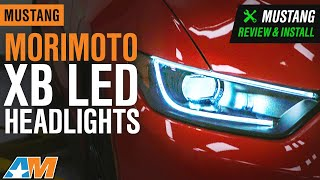 2015-2017 Mustang Morimoto XB LED Headlights Review & Install