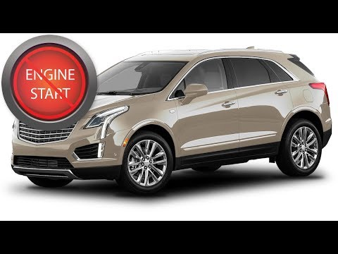 Cadillac Xt5 Open And Start Push Button Start Newer Models With A