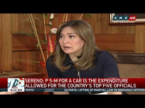 Chief Justice Sereno says ready to prove innocence (2)