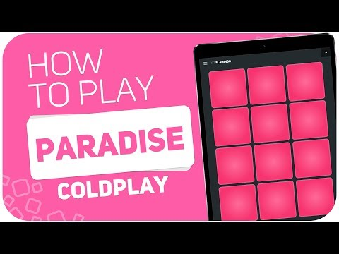 How to play: PARADISE (Coldplay) - SUPER PADS - Kit Flamingo