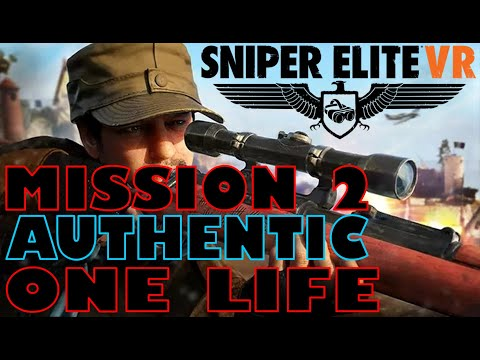 Help From Above - Authentic - Sniper Elite VR - One Life - PSVR - AIM Controller |