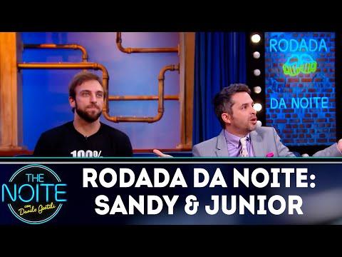 Rodada da Noite: Sandy & Junior  The Noite 120419