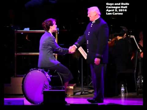 Guys and Dolls - Carnegie Hall - More I Cannot Wish You - Len Cariou