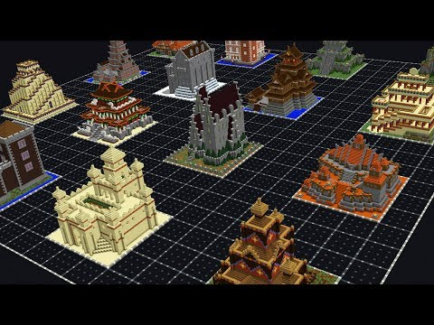 MINI MINECRAFT CASTLE COLLECTION