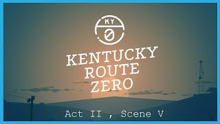 Kentucky Route Zero || Act II, Scene V : A Forest [Full Playthrough]