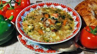 Мастава. Жидкий плов. Узбекская кухня.