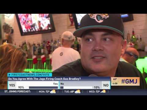 Remembering Gus Bradley Fired From Jacksonville Jaguars News