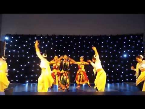 Kandyan & Bharathanatyam Fusion - Dhamaal 2015