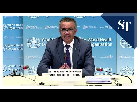 WHO chief: Masks alone will not protect against coronavirus