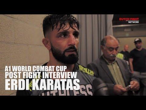 Post Fight : Erdi Karatas