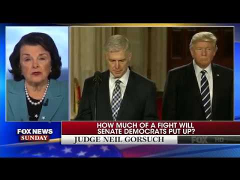 "Sen. Dianne Feinstein: Supreme Court Nominee Neil Gorsuch Should Get A ""Full And Fair Hearing"""