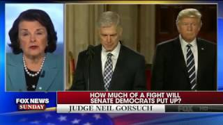"Sen. Dianne Feinstein: Supreme Court Nominee Neil Gorsuch Should Get A ""Full And Fair Hearing"""
