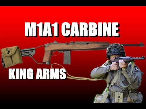 M1A1 Carbine (Paratrooper) King Arms video review