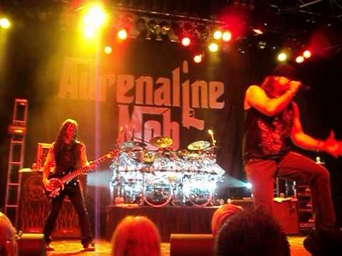 Adrenaline Mob Stand Up and Shout - KC 4/2/2013