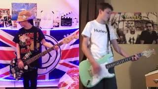 blink-182 Josie guitar and bass cover