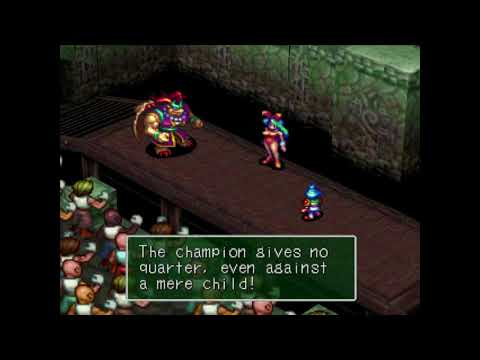 Breath of Fire 3 Fighting Man - extended
