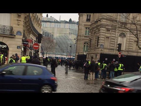 Live Paris- au cœur de la Capitale - Gilets Jaunes