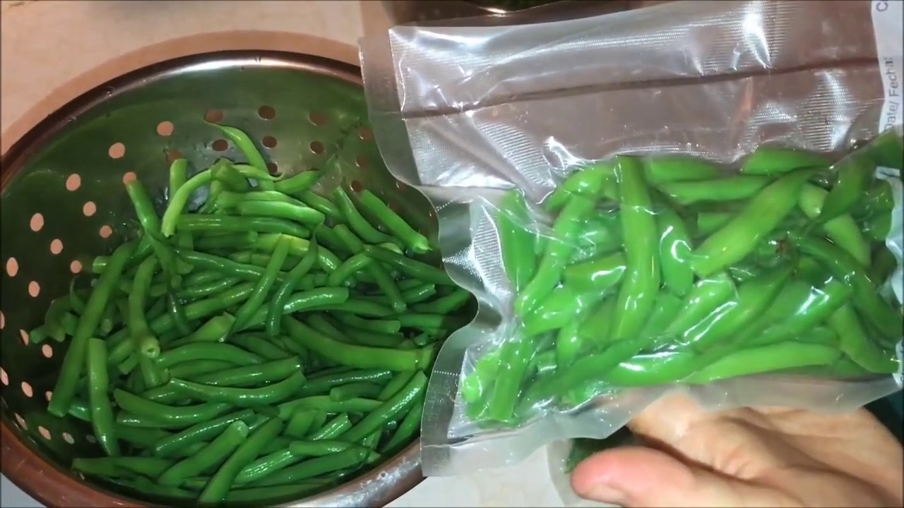 How to Freeze Green Beans From Your Garden