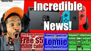 INCREDIBLE NINTENDO SWITCH NEWS!