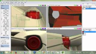 How to Design Papercraft Car with Metasequoia 03