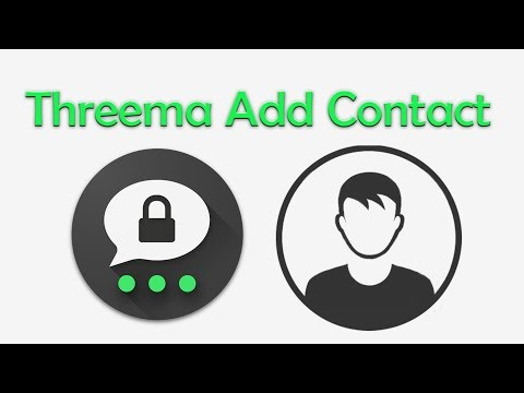 Threema Add/Remove Contact - Voice Chat - Call End To End Encrypted   Whatsapp Alternative