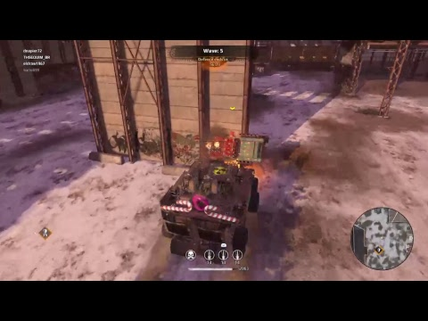 Crossout 911 Heist Natal PS4 Ao Vivo Live Stream