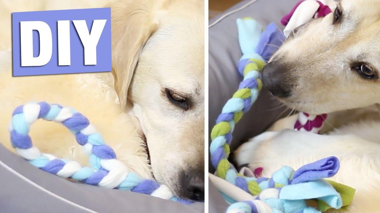 Selbstgemacht – Kauspielzeug für Hunde | Hunde spielzeug
