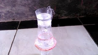 Cara Membuat Air Mancur Dari Gelas Plastik Bekas