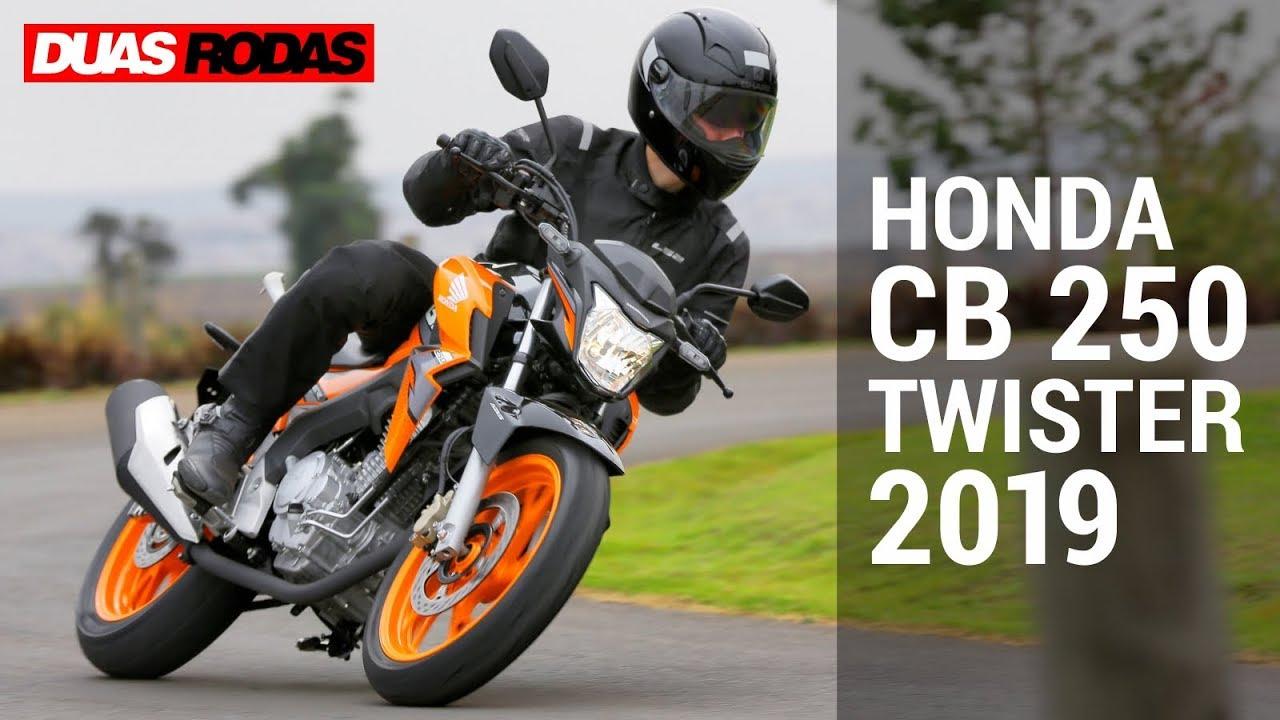 Honda Cb 250 Twister 2019 Youtube