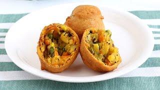 Aloo Bonda with Vegetables Recipe