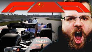 SPANNUNG bis zur letzten Runde | China 2/2 🎮 F1 2017 Season 2 #4