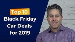 Top 10 Black Friday Car Deals [2019 Edition]