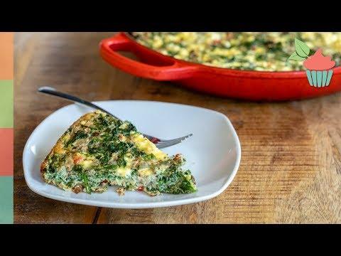 Artichoke Spinach Frittata | Brunch Series!