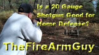 Is a 20 Gauge Shotgun Good for Home Defense? - TheFireArmGuy