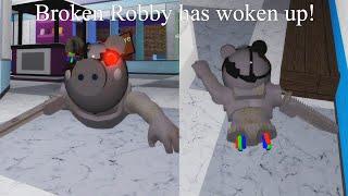 I PLAY AS BROKEN ROBBY!..(Roblox Piggy Customs)