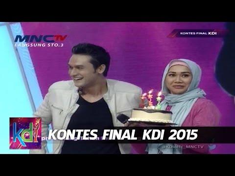Surprise Ulang Tahun Indra Brughman - Kontes Final KDI 2015 (8/5)