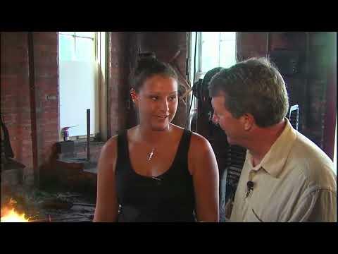 Illinois Stories | Female Blacksmith | WSEC TV:PBS Newman