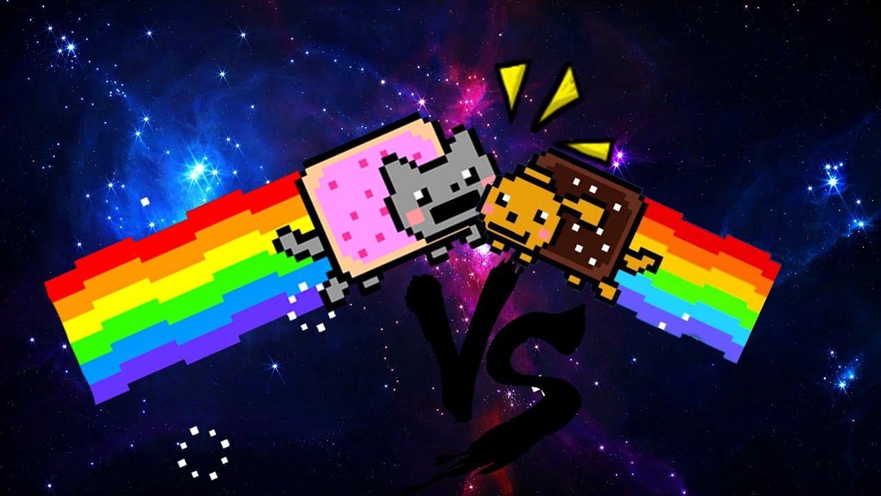 Nyan cat VS Nyan Dog - YouTube Nyan Dog