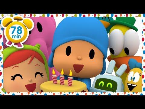 🎂POCOYO Em PORTUGUÊS Do BRASIL - O Aniversário Do Pocoyo [78 Min] | DESENHOS ANIMADOS Para Crianças