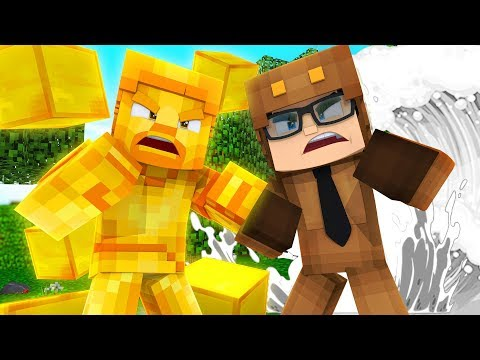 HOW TO DEFEAT GOLD STEVE IN MINECRAFT!