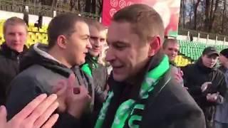 Церемония завершения карьеры Алексея Трусилина