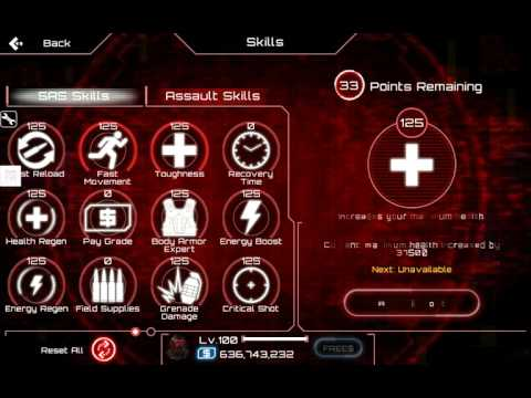 SAS 4 Zombie Assault,Tutorial Hack Skill point