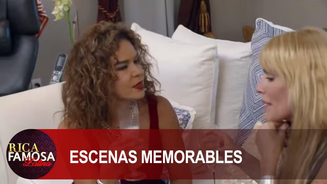 ESTELA LE REVELA A ELISA TODAS LAS NTENCIONES DE ADRIANA  | Rica Famosa Latina | Escenas Memorables