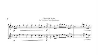 Two And Four Jazz Duet