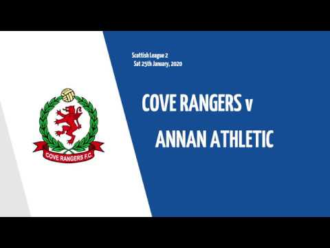 Cove Rangers Annan Athletic Goals And Highlights