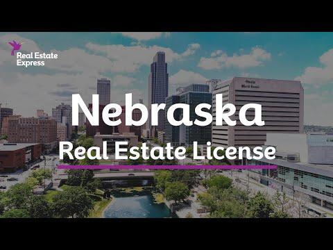 How to Get a Nebraska Real Estate License