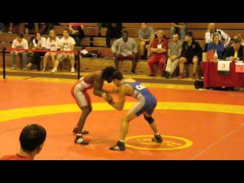 2009 Canada Cup: 66 kg CJ Hudson vs. Ryan Lue