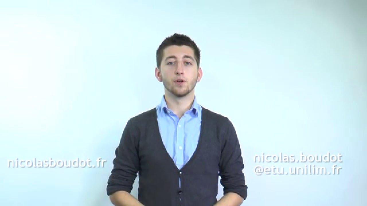 nicolas boudot - cv vid u00e9o  anglais