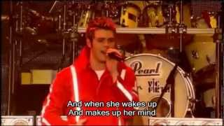 Westlife - Uptown Girl with Lyrics, Dreams Come True Tour